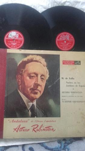 album doble de manuel de falla por a. rubinstein