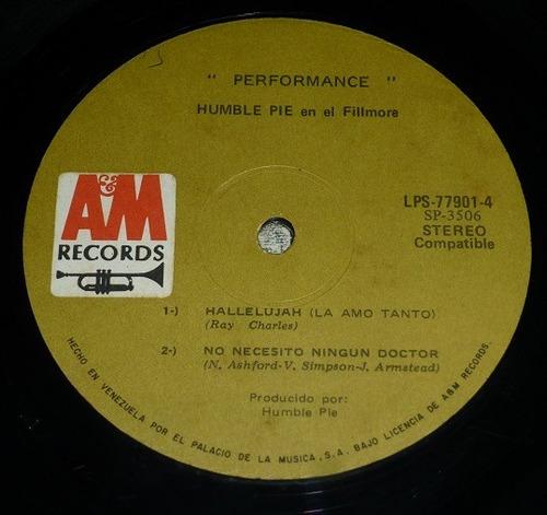 album doble humble pie live rockin the fillmore bs 13.500