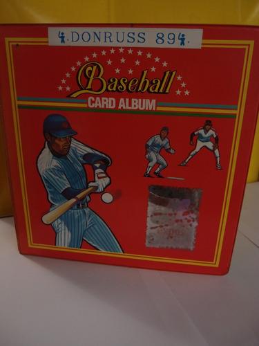 album donruss 1990 barajitas de la mlb,