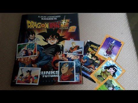 album dragon ball super 2 navarrete set completo