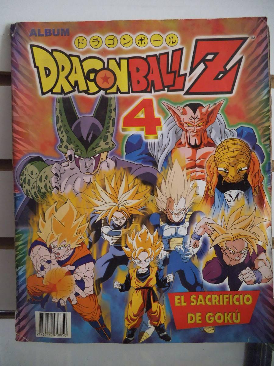 Album dragon ball z 4 el sacrificio de goku en - Dragon ball z 4 ...