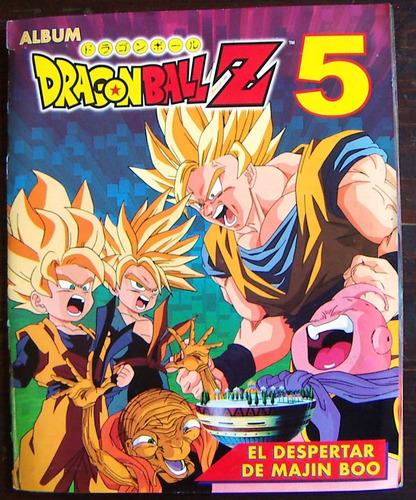 álbum, dragon ball z 5