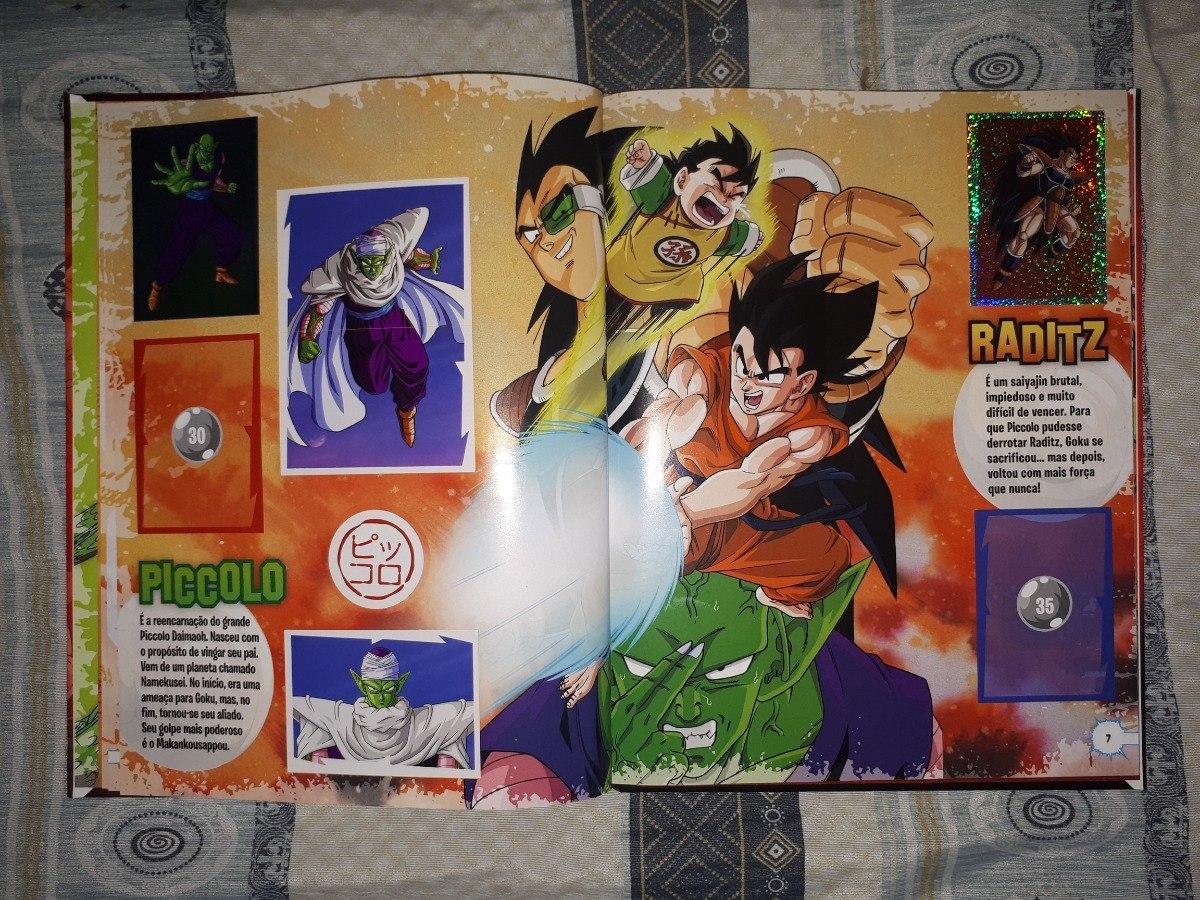 Album Dragon Ball Z Universe Capa Dura R 89 90 Em Mercado Livre