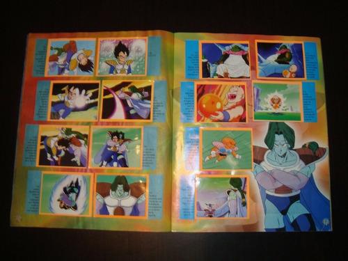 álbum dragon ball z2 de colección navarrete falta 3 barajita