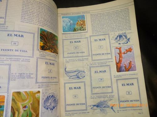 album el mar fuente de vida  artecrom 87 laminas ( a-7