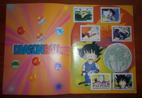 album estampas dragon ball merlin-topps no panini, muy raro!