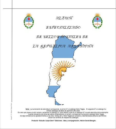 album estampillas sr 1856-2016. carpe diem filatelia.rosario