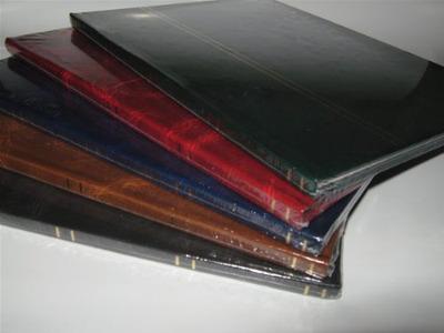 album estampillas tapas cuerina holandes 4 hojas importador