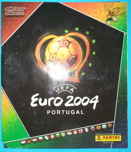 álbum euro 2004 portugal (con 6 láminas)