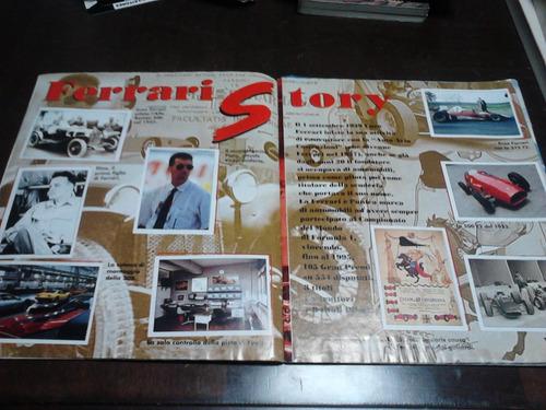 álbum ferrarri - raro -  faltam 16 figurinhas das 128.