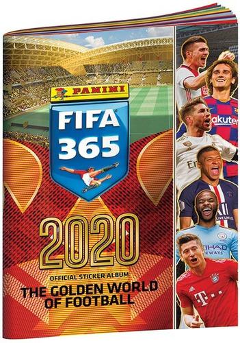 album fifa 365: 2020 + 50 sobres + envío gratis