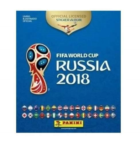 Álbum Fifa Word Cup Rússia 2018 Capa Dura + 60 Figuras De Br