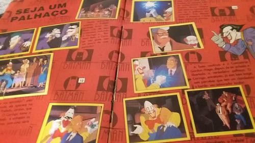album figurinhas batman serie animada (sem capa)