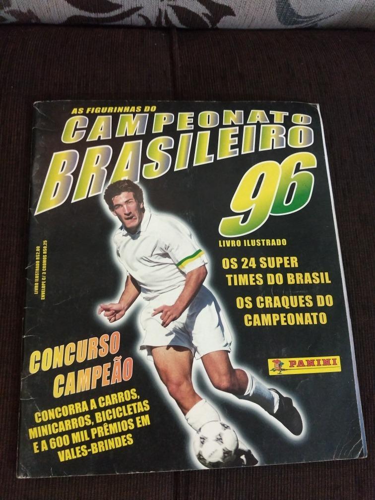 c2c6338f962fe álbum figurinhas campeonato brasileiro 1996 - completo. Carregando zoom.
