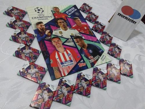 álbum figurinhas champions league 2018/2019 completo p colar