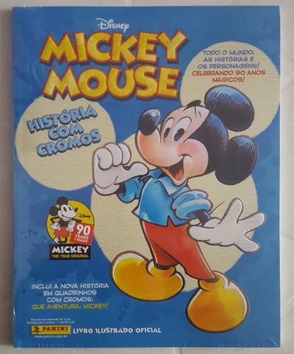 álbum figurinhas mickey mouse 90 anos 2018 completo p/colar