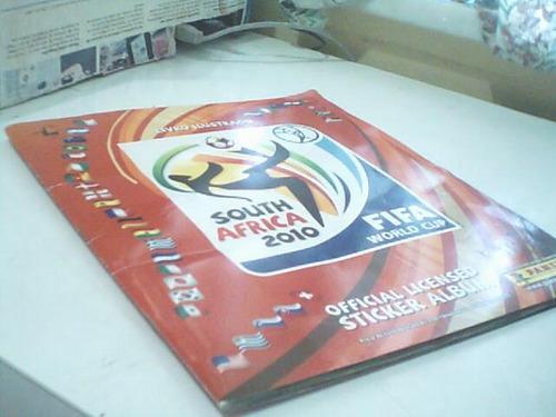 album figurinhas south africa 2010 fifa world cup/incompleto