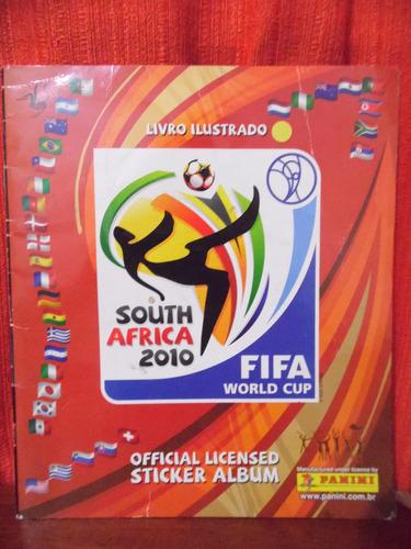 album  figurinhas  south africa 2010 - fifa world incompleto