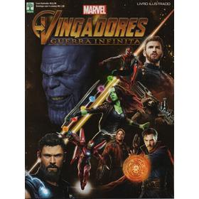 Álbum Figurinhas Vingadores Guerra Infinita Completo P/colar