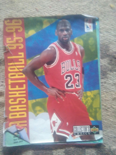 album figuritas basquet basketball nba 95/96