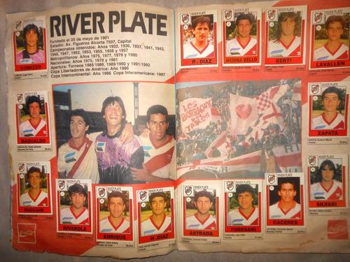 album figuritas futbol primera a supercoleccion 1992 unico!