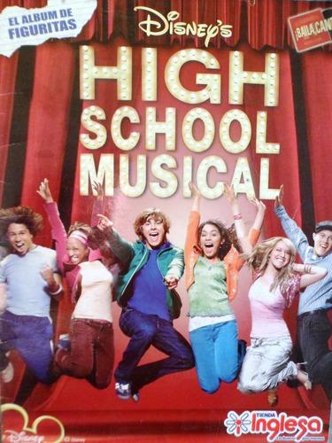album figuritas high school music completo e impecable