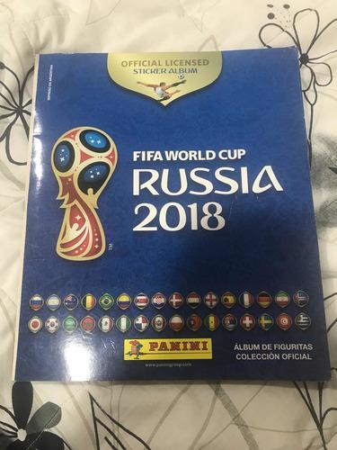 álbum figuritas mundial russia 2018 completo impecable envio