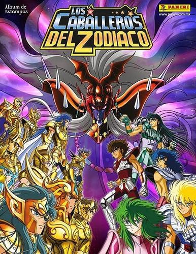 album figuritas panini caballeros del zodiaco completo