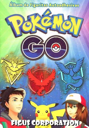 album figuritas pokemon go 2017 completo a pegar -  c/ envio