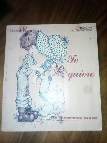 album figuritas sarah kay te quiero - 1980