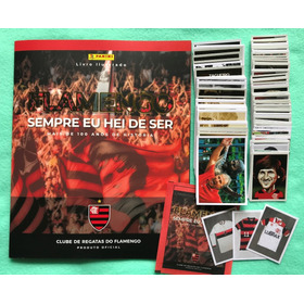 Album Flamengo 2019 60% Completo Panini 180 Figurinhas S/rep