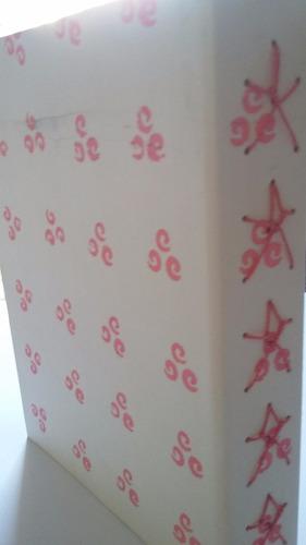 álbum florzinhas rosas