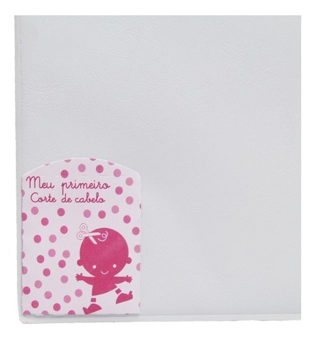 álbum flypper bebê c/ diário do bebê - 15x21 e 20x25 - rosa