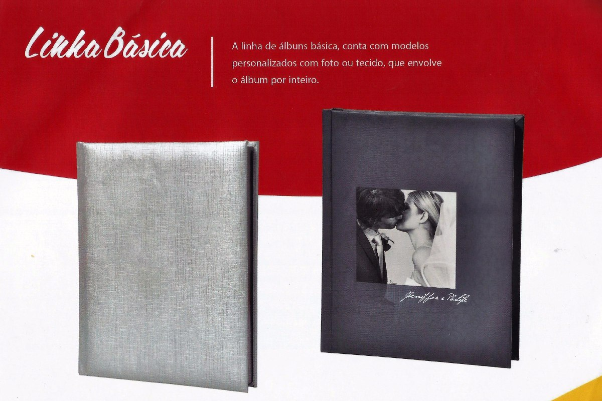 álbum Fotografias Aniversário Casamento 20x30 20 Lâminas