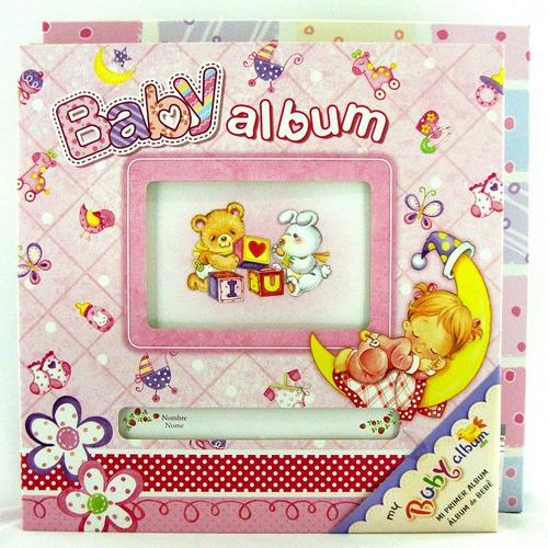 album fotografico bebe 100 fotos 10x15cm porta cd ab065rs
