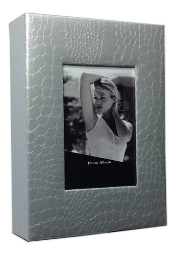 álbum fotográfico de courino preta para 200 fotos 10x15