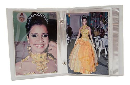 álbum fotografico dourado 15x21  até 100 fotos