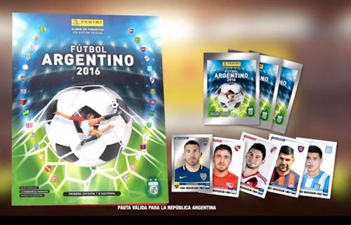 album futbol argentino 2016 panini completo a pegar + extras
