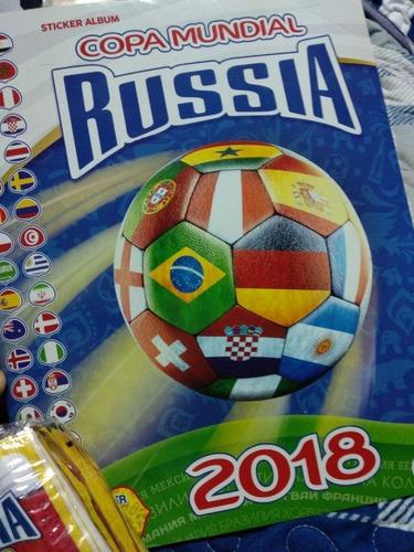 álbum gol copa mundial rusia 2018