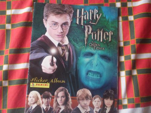 album  harry potter   y la orden del fenix panini (r672