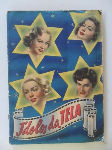 album ídolos da tela! ed. vecchi 1953! completo!