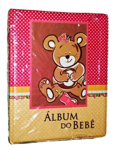 álbum infantil diário do bebê 10x15 200 fotos universal 0812