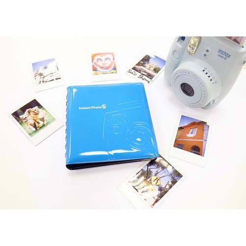 álbum instax mini 64 fotos fujifilm albuminstax bege