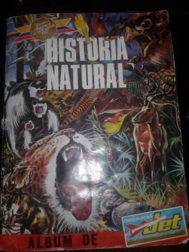 album jet de historia natural llenos y láminas  aproveche