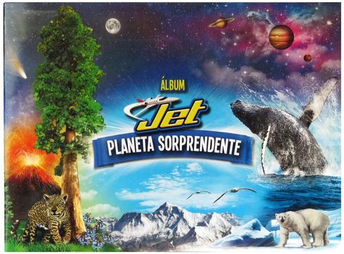 álbum jet planeta sorprendente - nuevo
