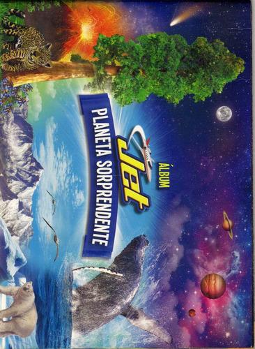 album jet planeta sorprendente,de chocolatinas.