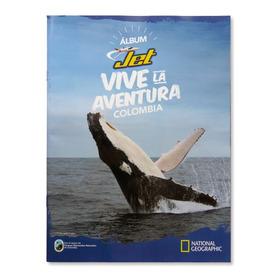 Álbum Jet Vive La Aventura Colombia Nuevo