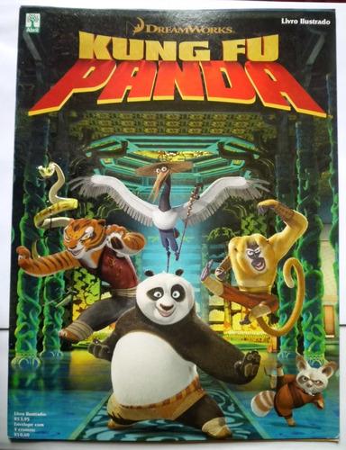 álbum kung fu panda semi-completo 34 figuras coladas