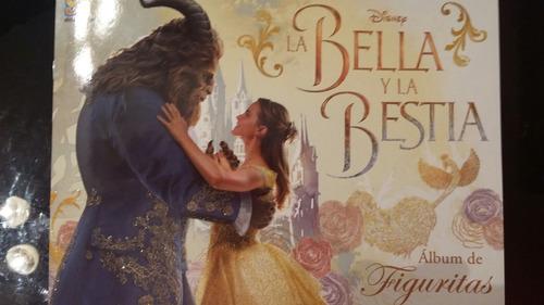 album la bella y la bestia 2017 completo las 240 figuritas