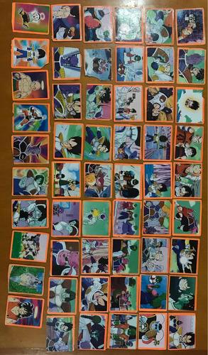 álbum láminas dragón ball z2 recortadas